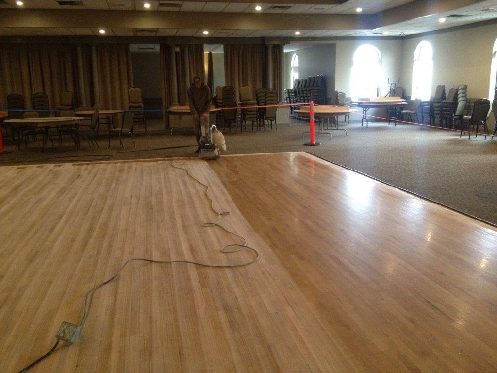 Floor finishing - subject photo